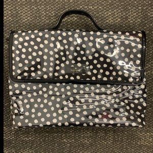 Kate Spade Double Pocket Cosmetic Toiletry Bag
